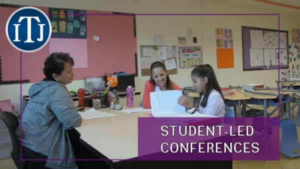 [P] STUDENT-LED CONFERENCES